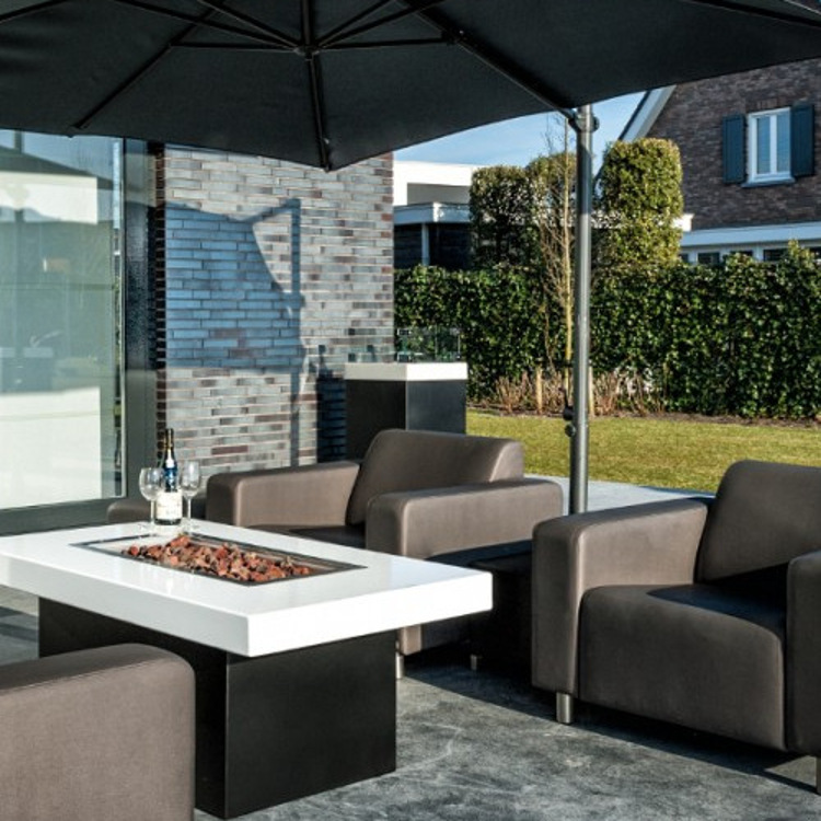 feuers ule als terrasse heizung von. Black Bedroom Furniture Sets. Home Design Ideas